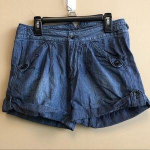 DIESEL high waist denim shorts 24